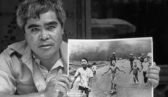 Nick Ut Vietnamese photojournalist and his famous photo.