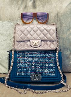 CHANEL on CHANEL. http://www.thecoveteur.com/kahlana-barfield-instyle/