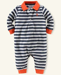 Ralph Lauren Polo- so cute! And just in time for some auburn football.