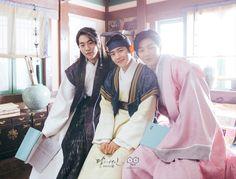 Baek Ah, Eun and Jung. MDBC