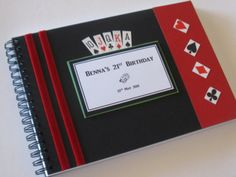 Casino Party Guest Book