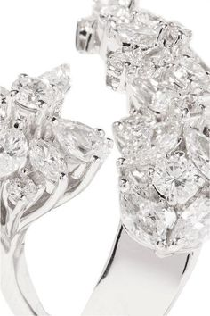 18-karat White Gold Diamond Ring - 7 Yeprem YzS6M