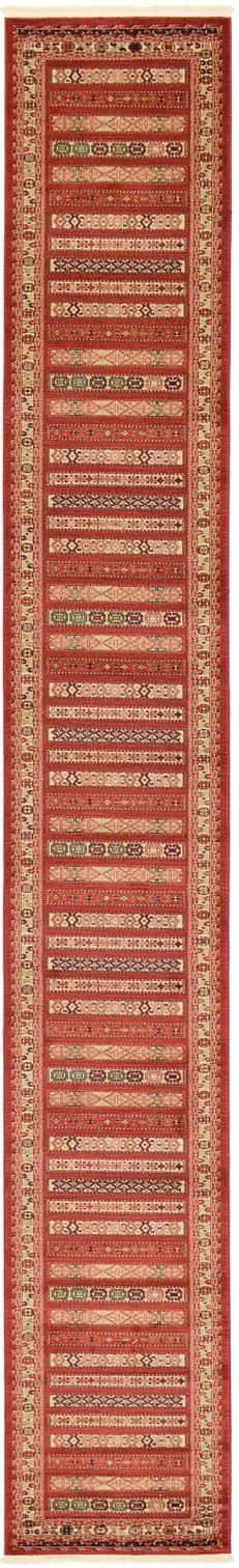 Rust Red 2' 7 x 19' 8 Kashkuli Gabbeh Runner Rug | Area Rugs | eSaleRugs