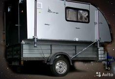 Utility Trailer Camper, Small Camper Trailers, Pickup Camper, Small Campers, Bike Trailers, Camping Trailer Diy, Truck Camping, Mini Camper, Camper Van