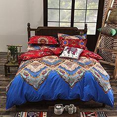Elegant Moroccan Print Comforter