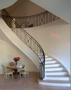 Not my decorating style, but good bones & studied decisions if we ever build