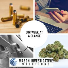 Mason Investigative Solutions Private Investigator in Gilbert, AZ. What did we do this week? We opened and investigated 4 criminal defense cases. 1 federal and 3 county cases. Having an experienced private investigator with law enforcement background can yield big results for the defense.
