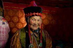 A Buryat woman