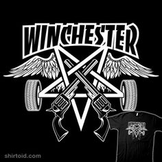 Winchester Magazine #samwinchester #deanwinchester #supernatural #tvseries #winchesterfamily #apparel #ONSALE