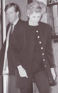 Princess Diana on hearing the death of her father