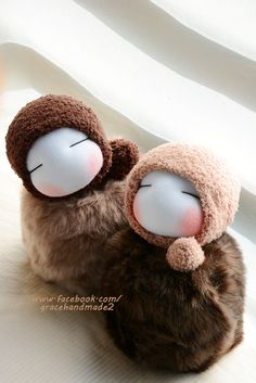 Grace--#345+#346 sock baby Diy Dolls From Socks, Sock Bunny, Sock Puppets, Sock Crafts, Sock Dolls, Sock Animals, Sewing Toys, Knitted Dolls, Doll Face