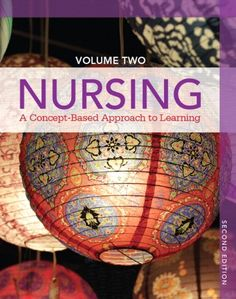 Nursing: A Concept-Based Approach to Learning - VOLUME II: The second of two volumes, the fully-updated Volume II focuses on 30 crucial concepts every nurse needs to master. It begins with several Psychosocial Modules covering addiction, cognition, culture/diversity, development, family, grief/loss, mood/affect, self, spirituality, stress/coping, and violence. After focusing on reproduction, it turns to the nursing domain, covering assessment, caring ...