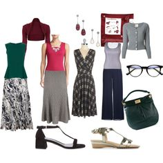 """""""Classic with romantic hint"""" by irenabarat on Polyvore"""