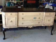 vintage furniture painting techniques with stenciling - Google Search