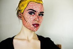 If I practiced Halloween rituals, I would so dress up as a character from Roy Lichtenstein's art.