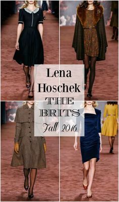 Lena Hoschek Fall/Winter 2016 Collection - The Brits