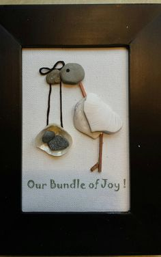 Pebble Art Our Bundle of Joy