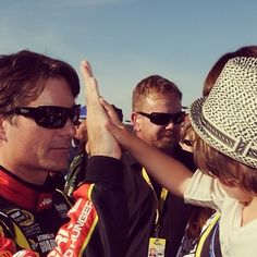 High Five Before the 600 at Charlotte Taken by Dr. Scott McNair l 24 JeffGordon.com