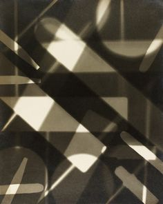 Abstract Photogram by Curtis Moffat | c.1925 | London, UK | © Victoria and Albert Museum | V Prints