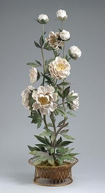 Flowers in Antique Vases Vladimir Kanevsky porcelain flowers.  In any form!!!!