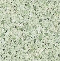 Beau Light Green Quartz Stone Slab Kitchen Countertop Floor Tile   By Zhaoqing  Boton Imp.