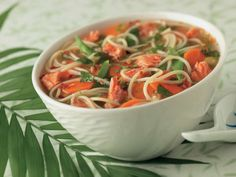 Clover Leaf's Asian Salmon Soup Bowl - Clover Leaf Canned Tuna Recipes, Crab Recipes, Salmon Recipes, Soup Recipes, Recipies, Salmon Soup, Crab Soup, Shrimp Chowder, Asian Salmon