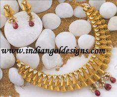 Antique Polki Jewellery Tanishq | Free Download Designer Gold Indian Jewellery Neckalce Set Photo ...