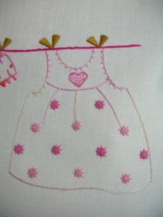 Love this sweet dress hangin on the line *