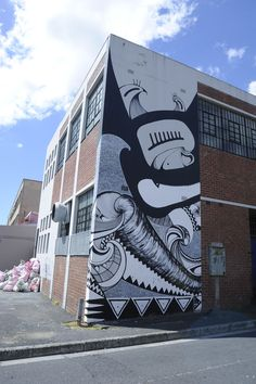 Graffiti in Woodstock, Cape Town, South Africa Woodstock, Cape Town, South Africa, Graffiti, Street Art, My Arts, Image, Places, Lugares