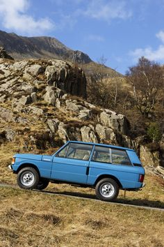 Range Rover Classic 1970; first off the production line. Such a tough yet incredibly classy vehicle.