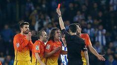 Piqué, FC Barcelona | Real Sociedad 3-2 FC Barcelona. [2013-01-19]