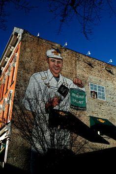 Nashville painter #OneOfAKindNashville