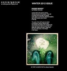 New Poetry in Convergence (Winter 2012) by Melissa Donovan