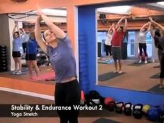 Fusion Cross-training Stability & Endurance Workout 2: Chest, Legs, Biceps