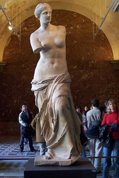 Venus de Milo - amazing! and amazing day with my brother clint acree in Paris!