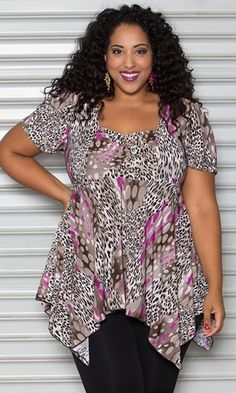 Liza Babydoll Top $45.90 by SWAK Designs #swakdesigns #PlusSize #Curvy