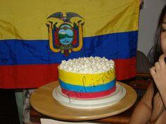 Torta bandiera Ecuador