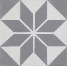 Moroccan Mosaic Tile House Assila 8 x 8 Cement Field Tile