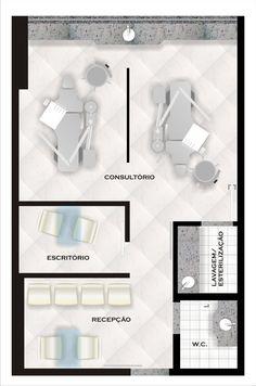 Clinic Interior Design, Clinic Design, Healthcare Design, Spa Design, Salon Design, Dentist Clinic, Pediatric Dentist, Home Beauty Salon, Dental Aesthetics