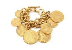 Ben-Amun bracelet Moroccan Coin http://www.vogue.fr/joaillerie/shopping/diaporama/bijoux-pieces-monnaie-antiques-coins/20869/image/1107998#!ben-amun-bracelet-moroccan-coin