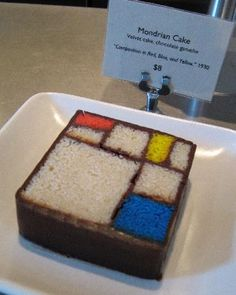 San Francisco Museum of Modern Art (SFMOMA), San Francisco Picture: Mondrian cake @ SF MoMA - Check out TripAdvisor members' 51,254 candid photos and videos of San Francisco Museum of Modern Art (SFMOMA)