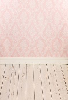 Amazon.com : 5x7ft Pink damask Motifs Photo Backgrounds Wood Floor Wrinkle free Photography Backdrops for Newborn wd0460 : Camera & Photo