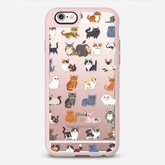 All Cats (clear) - New Standard Case