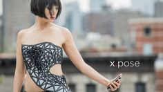 x.pose. x.pose is a wearable data-driven sculpture that exposes a person's skin as a real-time reflection of the data that the wearer is pro...