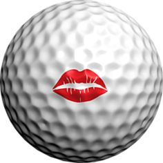Cool Logo Golf Balls Make Great Gifts Hot Lips Use code PMYT15 to get 15% off for 15 to 50 packs and PMYT25 giving a huge 25% off discount on 51 or more packs. golfdotz.com/products #planmytournament