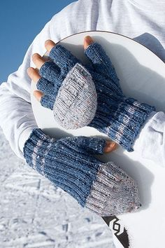 Fingerhandschuhe  stricken -kostenlose Anleitung © Christophorus Verlag