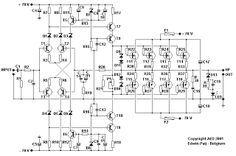 Audio Amplifier MOSFET 200 W
