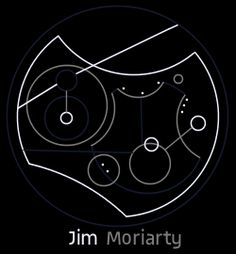 Jim Moriarty in Gallifreyan this is kinda prefect Jim Moriarty, Sherlock Holmes, Circular Gallifreyan, Fandom Crossover, Dr Who, Superwholock, The Hobbit, Nerdy, Baker Street