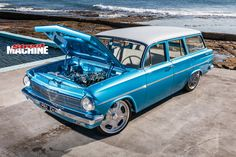 Ben Judd mixes classic and cutting-edge to create a drop=dead gorgeous Holden EH streeter that was the talk of Motorex 2017 Holden Wagon, Aussie Muscle Cars, Australian Cars, Car Colors, Old Cars, Motocross, Vintage Cars, Hot Rods, Classic Cars