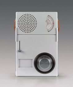 Braun portable transistor radio and phonograph by Dieter Rams for German electronics company Braun — less is Little Designs, Cool Designs, Hair Treatment At Home, Braun Dieter Rams, Electronics Companies, Industrial Design Sketch, Retro Radios, Transistor Radio, Phonograph